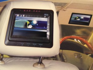 Headrest Monitor designed for 7-inch TFT